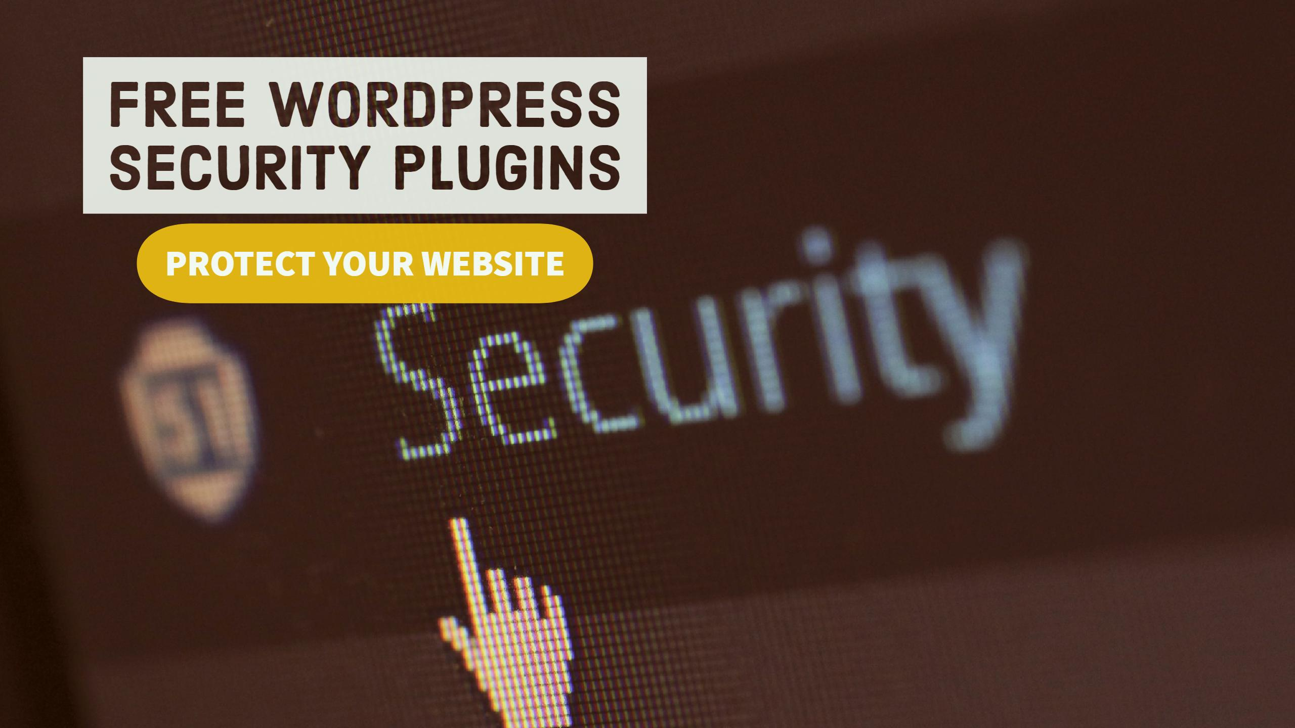Best Free WordPress Security Plugins