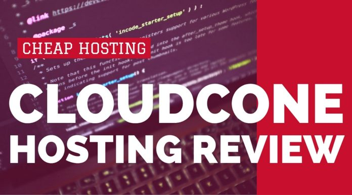 Cloudcone Hosting Review
